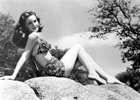 Jeanne Crain in a bikini