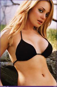Monica Keena in a bikini