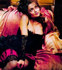 Helena Bonham Carter in lingerie