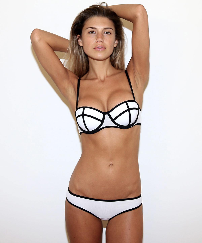 Jade Cara in a bikini