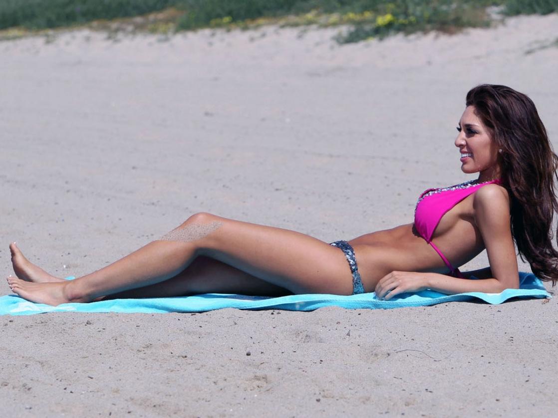 Farrah Abraham in a bikini