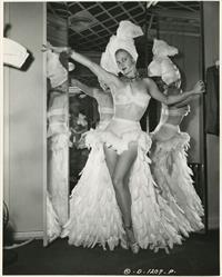 Joan Caulfield in lingerie