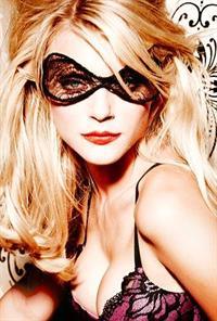 Jessica Stam in lingerie