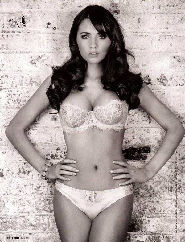 Amy Childs in lingerie