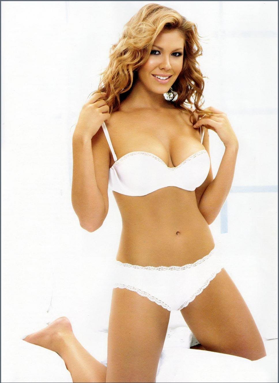 Nikki Cox in lingerie