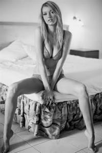 Erin Cummins in lingerie