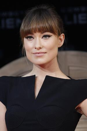 Olivia Wilde attends the Berlin premiere of Cowboys and Aliens on August 8, 2011