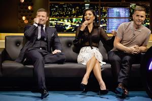 Nicole Scherzinger At The Jonathan Ross Show in London - October 4, 2012
