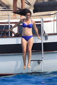 Sofia Hellqvist in a bikini