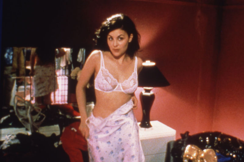 Sherilyn Fenn in lingerie