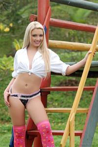 Yasmin Assis in lingerie